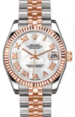 Rolex Datejust Ladies 178271 whitemop Steel and Everose Gold