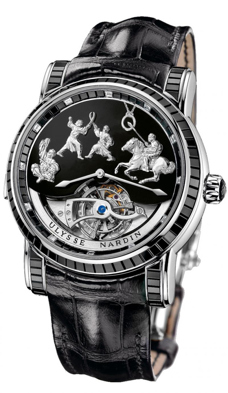 780-81-Black Ulysse Nardin Genghis Khan Haute Joaillerie Limited Edition 30 Specialities