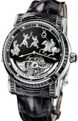 Ulysse Nardin Specialities 780-81-Black Genghis Khan Haute Joaillerie Limited Edition 30