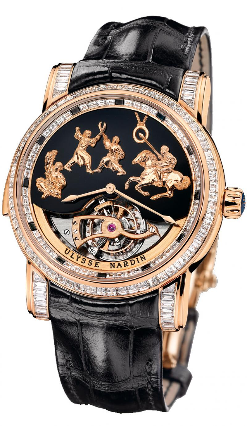 786-81 Ulysse Nardin Genghis Khan Haute Joaillerie Limited Edition 30 Specialities