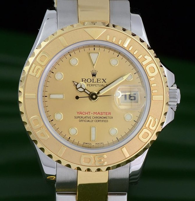 Rolex 169623 Champaigne Yacht Master II Yacht-Master 29mm Steel and Yellow Gold - фото 3