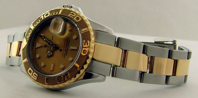 Rolex 169623 Champaigne Yacht Master II Yacht-Master 29mm Steel and Yellow Gold - фото 6