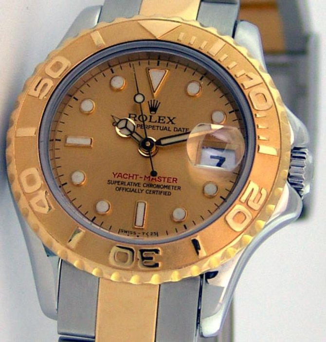 Rolex 169623 Champaigne Yacht Master II Yacht-Master 29mm Steel and Yellow Gold - фото 8