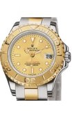 Rolex Yacht Master II 169623 Champaigne Yacht-Master 29mm Steel and Yellow Gold