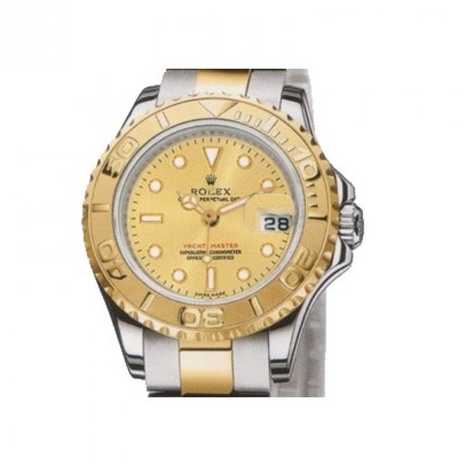 Rolex 169623 Champaigne Yacht Master II Yacht-Master 29mm Steel and Yellow Gold - фото 1