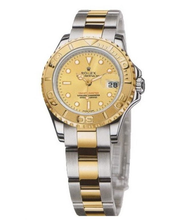 Rolex 169623 Champaigne Yacht Master II Yacht-Master 29mm Steel and Yellow Gold - фото 2