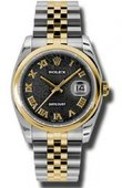 Rolex Datejust 116203 bkjrj Steel and Yellow Gold