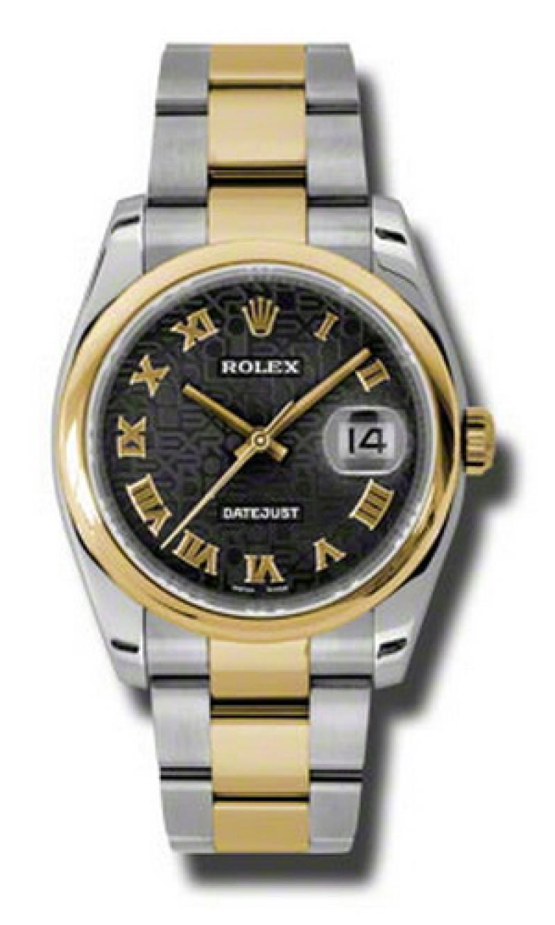 116203 bkjro Rolex Steel and Yellow Gold Datejust