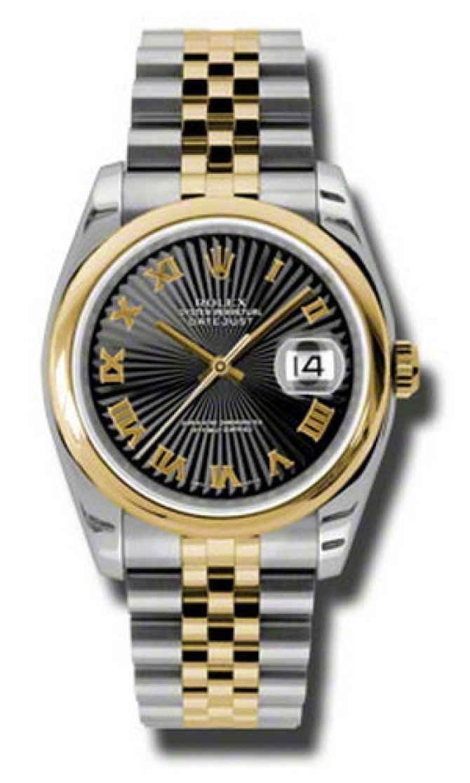 Rolex 116203 bksbrj Datejust Steel and Yellow Gold - фото 1