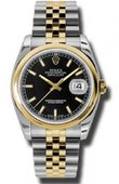 Rolex Datejust 116203 bksj Steel and Yellow Gold