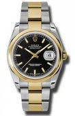 Rolex Datejust 116203 bkso Steel and Yellow Gold