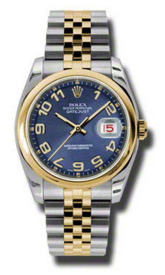 Rolex 116203 blcaj Datejust Steel and Yellow Gold - фото 1