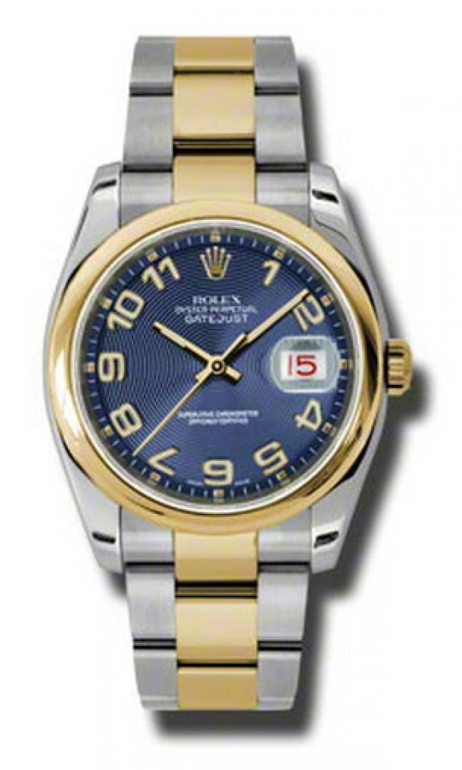Rolex 116203 blcao Datejust Steel and Yellow Gold - фото 1