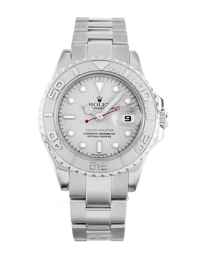 Rolex 169622 Silver Yacht Master II 29mm Steel and Platinum - фото 2