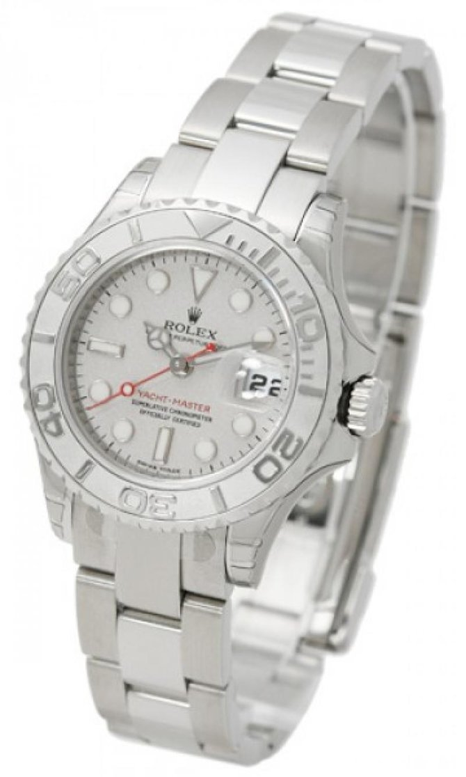 Rolex 169622 Silver Yacht Master II 29mm Steel and Platinum - фото 3