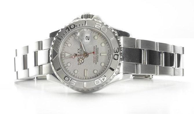 Rolex 169622 Silver Yacht Master II 29mm Steel and Platinum - фото 5