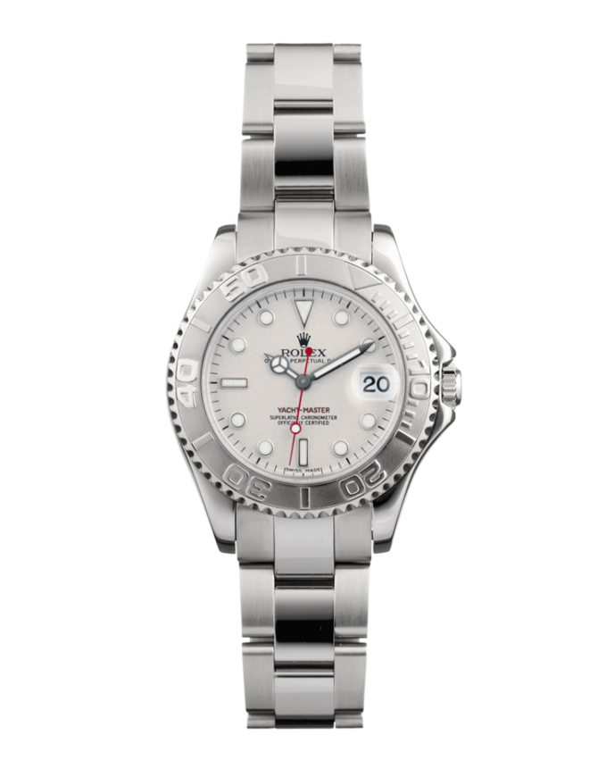 Rolex 169622 Silver Yacht Master II 29mm Steel and Platinum - фото 1
