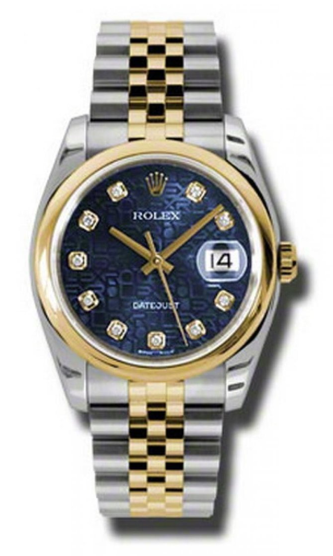 Rolex 116203 bljdj Datejust Steel and Yellow Gold - фото 1