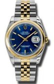 Rolex Datejust 116203 blsj Steel and Yellow Gold
