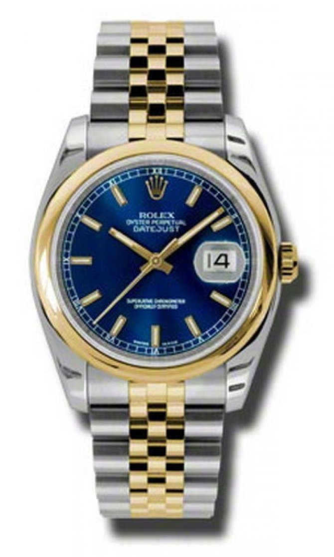 Rolex 116203 blsj Datejust Steel and Yellow Gold - фото 1