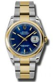 Rolex Datejust 116203 blso Steel and Yellow Gold