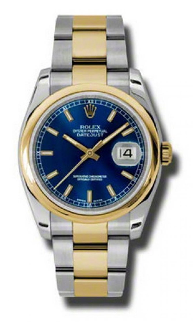 Rolex 116203 blso Datejust Steel and Yellow Gold - фото 1