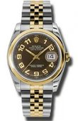 Rolex Datejust 116203 braj Steel and Yellow Gold