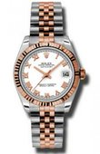 Rolex Datejust Ladies 178271 wrj Steel and Everose Gold