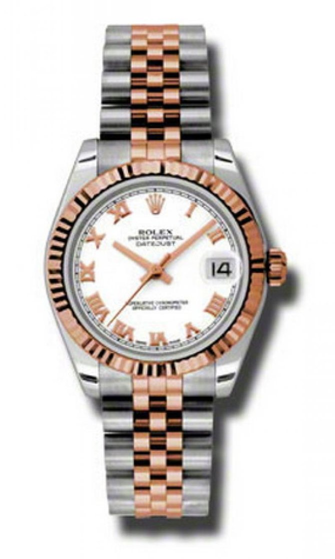 Rolex 178271 wrj Datejust Ladies Steel and Everose Gold - фото 1