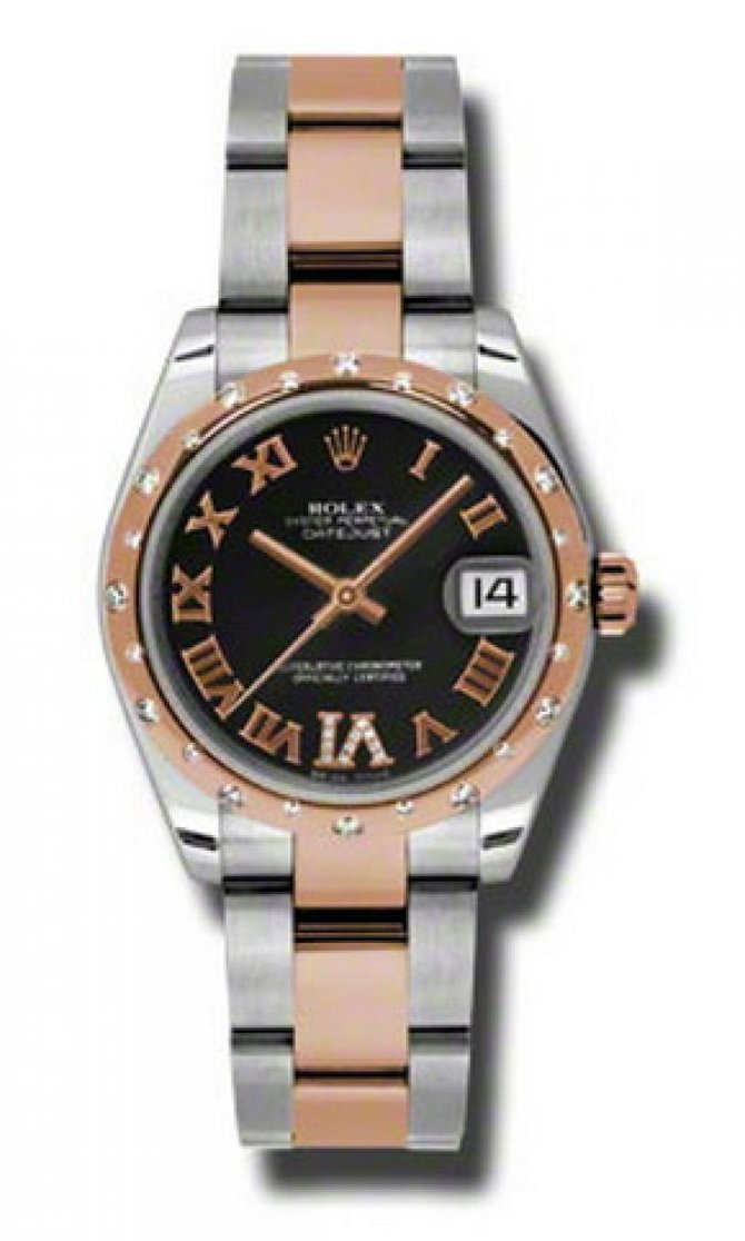 Rolex 178341 bkdro Datejust Ladies Steel and Everose Gold - фото 1
