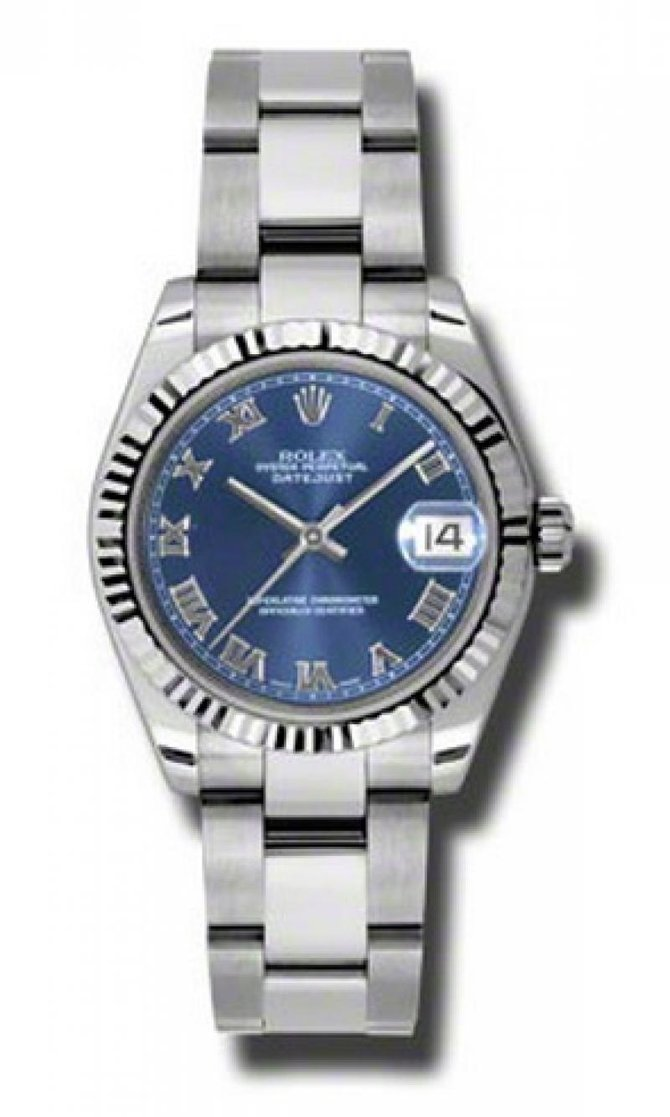 Rolex 178274 blro Datejust Ladies Steel and White Gold - фото 1