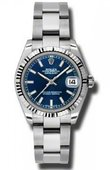Rolex Datejust Ladies 178274 blso Steel and White Gold