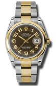Rolex Datejust 116203 brao Steel and Yellow Gold