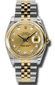 Rolex Datejust 116203 chdj Steel and Yellow Gold