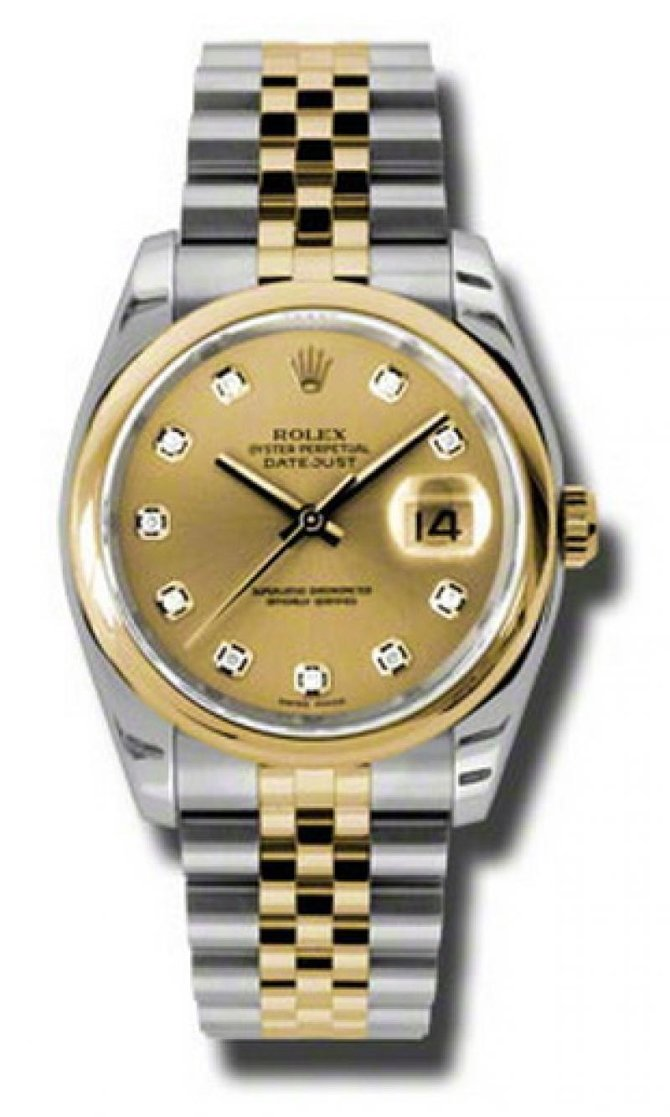 Rolex 116203 chdj Datejust Steel and Yellow Gold - фото 1