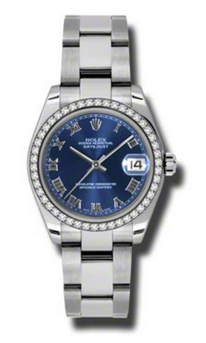Rolex 178384 blro Datejust Ladies Steel and White Gold - фото 1