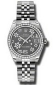 Rolex Datejust Ladies 178384 rfj Steel and White Gold