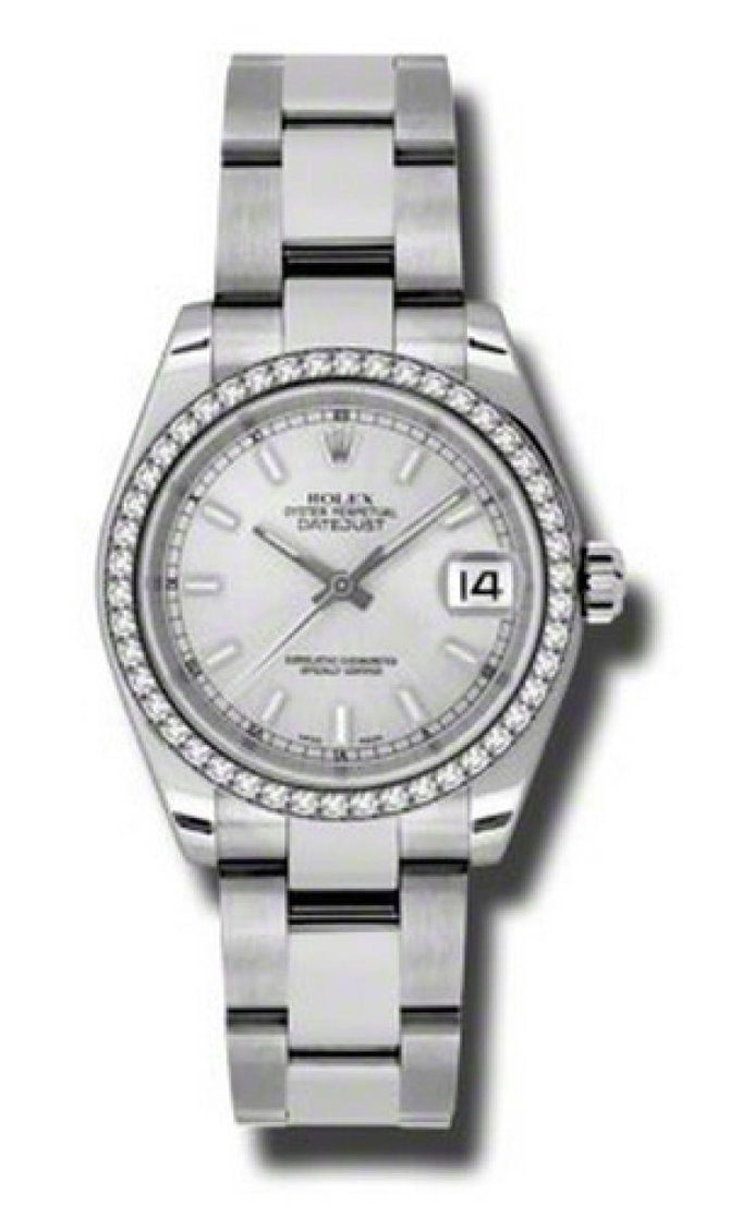 Rolex 178384 sio Datejust Ladies Steel and White Gold - фото 1