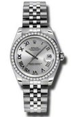 Rolex Datejust Ladies 178384 srj Steel and White Gold