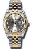 Rolex Datejust 116203 gdj Steel and Yellow Gold