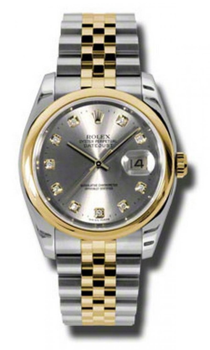 Rolex 116203 gdj Datejust Steel and Yellow Gold - фото 1