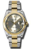 Rolex Datejust 116203 gro Steel and Yellow Gold