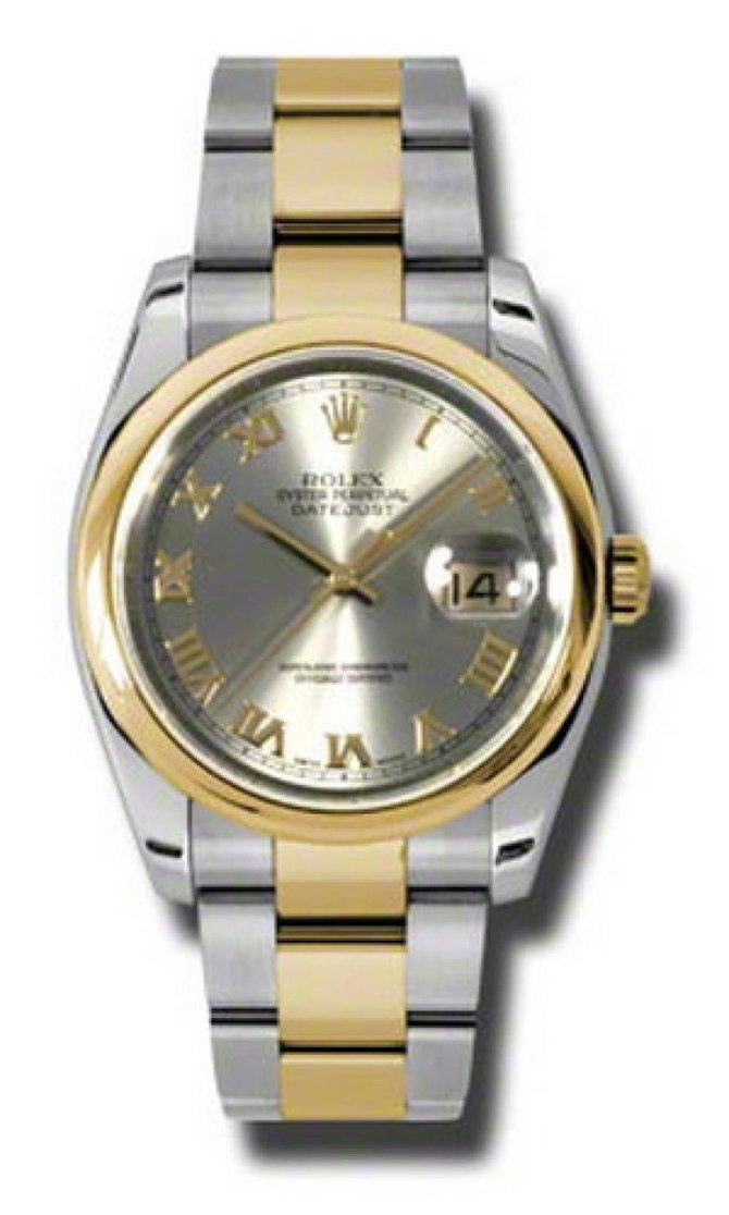 Rolex 116203 gro Datejust Steel and Yellow Gold - фото 1