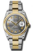Rolex Datejust 116203 gsbro Steel and Yellow Gold