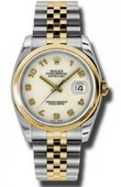 Rolex Datejust 116203 ijaj Steel and Yellow Gold