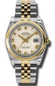 Rolex Datejust 116203 iprj Steel and Yellow Gold