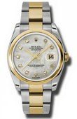 Rolex Datejust 116203 mdo Steel and Yellow Gold