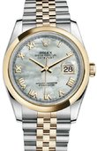 Rolex Datejust 116203 mrj Steel and Yellow Gold