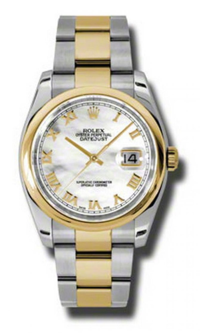 Rolex 116203 mro Datejust Steel and Yellow Gold - фото 1