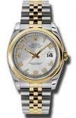 Rolex Datejust 116203 scaj Steel and Yellow Gold
